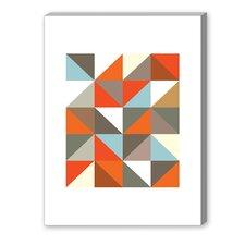 Visual Philosophy Harlequin 3 Graphic Art on Canvas