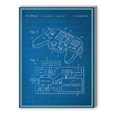 Video Game Controller Graphic Art