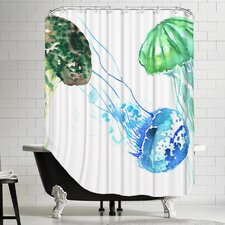 Jelly Fishes Shower Curtain