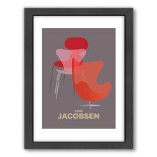 Christian Jackson Arne Jacobsen Framed Graphic Art
