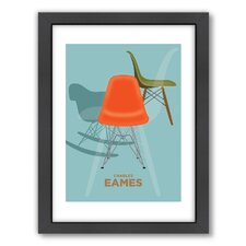 Visual Philosophy Charles Eames 2 Framed Graphic Art