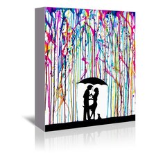Two Step (Print B) by Marc Allante Graphic Art on Wrapped Canvas