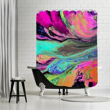 A Cosmic Journey Shower Curtain