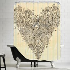 Love Art Print Shower Curtain