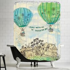 Touch The Sky Shower Curtain