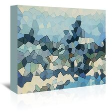 Urban Road Peaks Graphic Art on Gallery Wrapped Canvas