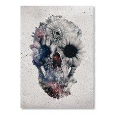 Ali Gulec Floral Skull 2 Graphic Art
