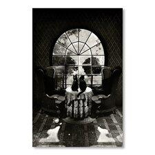 Ali Gulec Room Skull Bw Graphic Art