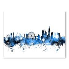 London England Skyline Wall Mural