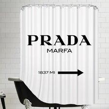 Prada Marfa Shower Curtain