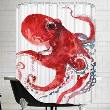 Octopus 3 Shower Curtain
