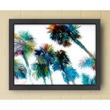 Trees Framed Painting Print