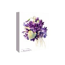 Wild Violets by Suren Nersisyan Painting Print on Gallery Wrapped Canvas