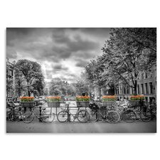 'Typical Amsterdam' by Melanie Viola Photographic Print