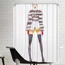 Palladium Fur Jacket Shower Curtain