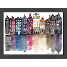 Amsterdam by Claudia Liebenberg Framed Painting Print