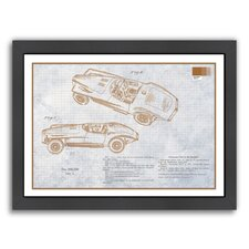 Sports Car by Armand Framed Graphic Art