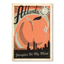 Atlanta Vintage Advertisement