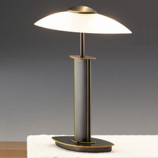 """19"""" H Table Lamp with Bowl Shade"""