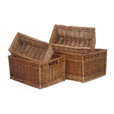 4 Piece Storage Basket Set