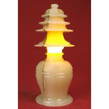 """Onyx Series 12"""" H Table Lamp with Novelty Shade"""