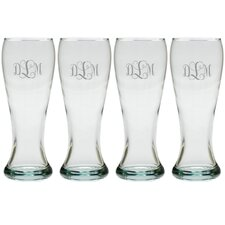 Personalized 16 Oz. Pilsner Glass (Set of 4)
