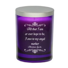 "Gem ""Angel Mother"" Jar Candle"