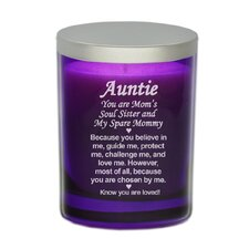 "Gem ""Chosen Aunt"" Votive Candle"
