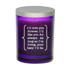 "Gem ""I'll Love You Forever"" Jar Candle"