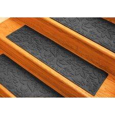 Aqua Shield Charcoal Fall Day Stair Tread (Set of 4)