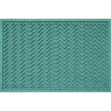 Aqua Shield Chevron Doormat