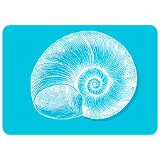 Premium Comfort Turquoise Snail Mat