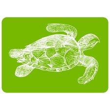 Premium Comfort Lime Turtle Mat