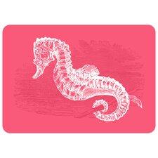 Premium Comfort Pink Seahorse Mat