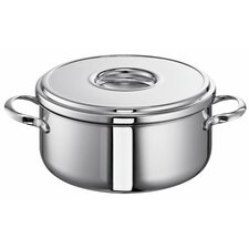 Romana i 1L Stainless Steel Round Casserole