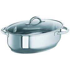 23cm Oval Stainless Steel Roasting Pan