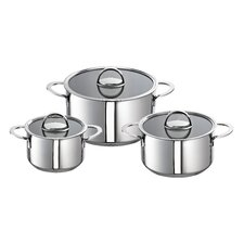 Mabel 3-Piece Pot Set with Lid (Set of 3)