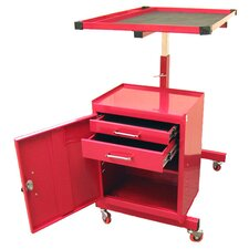Adjustable Metal Tool AV Cart