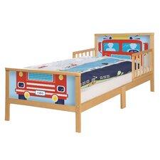 Toddler-Themen-Komplettbett Car, 70 x 140cm