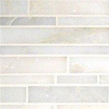 Greecian White Interlocking Pattern Polished