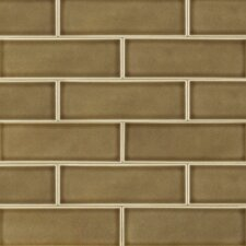 """4"""" x 12"""" Ceramic Tile in Artisan Taupe (Set of 15)"""