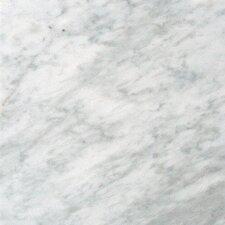 "18"" x 18"" Marble Field Tile in Carrara White"