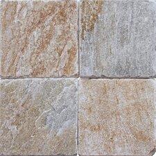 6'' x 6'' Natural Stone Field Tile in Multi