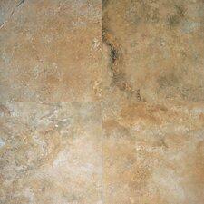 "Durango 6"" x 24"" Honed Travertine Field Tile in Honed Beige"