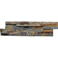Random Sized Slate Splitface Tile in Gold Rush