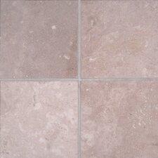 Durango 6'' x 6'' Travertine Field Tile in Honed Beige