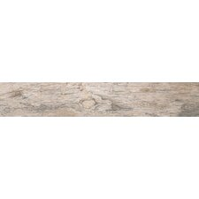 "Redwood Natural 6"" x 36"" Porcelain Wood Tile in Glazed Textured"
