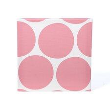 Pattern Big Dots Stretched Canvas Art