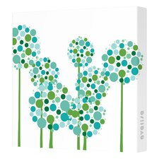 Imaginations Allium Canvas Art