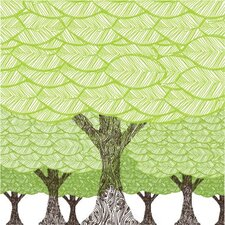 Imaginations Forest on Stretched Canvas